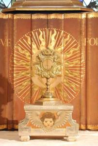 Tabor for Exposition of the Blessed Sacrament